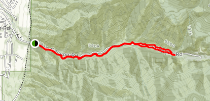 Providence Canyon Trail Map