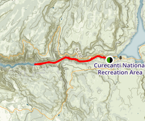 Morrow Point Boat Tour Map