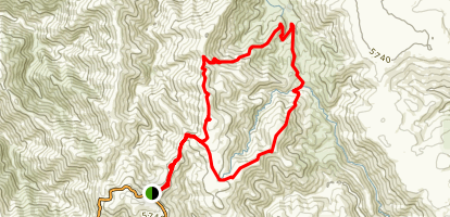 Cobungra Gap Loop Map