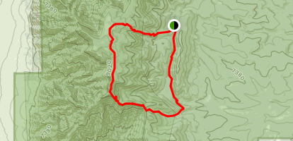 Bosque Trail Loop Map