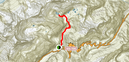 Laguna 69 Trail Map