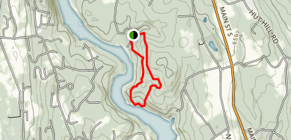 Silica Mine Trail Map