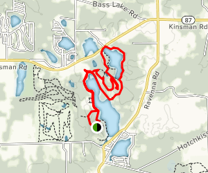 Punderson State Park Loop Trail Map
