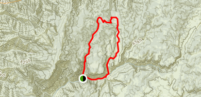 Herd Hollow - Richards Hollow Loop Trail Map