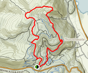 Lords Seat Loop Trail Map
