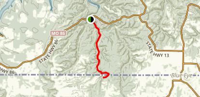 Dogwood Canyon Map