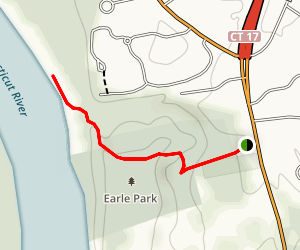 Earle Park Trail Map