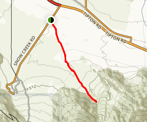 Vargas Palms Trail Map