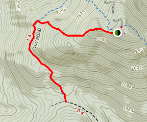 West Pointe Trail Map