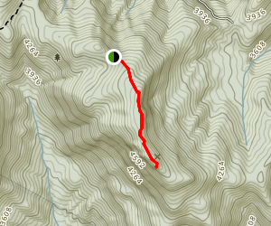 Picken's Nose Trail Map