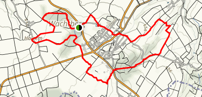 Wachtberg Loop  Map