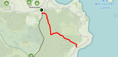 The Tennis Court/ Block 8 Trail Map
