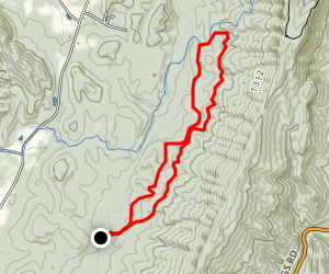 Wheat Trail along Dry Creek Map