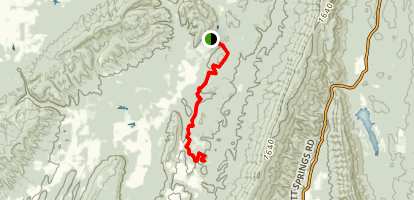 Mount Joy Trail Map