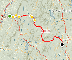 Northern Rail Trail Map