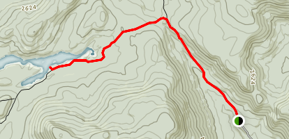 Pillsbury Lake  Map