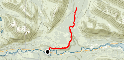 Resurrection Falls Trail Map