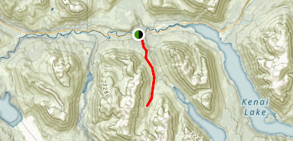 Stetson Creek Trail Map
