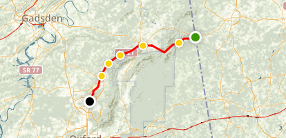 Chief Ladiga Trail Map
