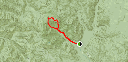 Trapper Creek Trail Map