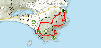 Gramont Trail Map