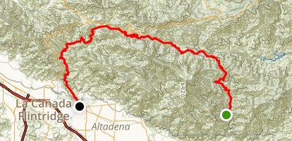 Gabrielino Trail Map