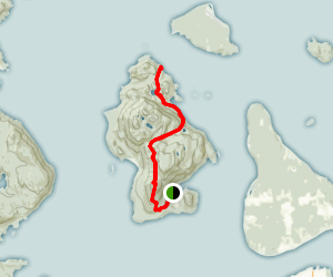 Cypress Island: Pelican Trail Map