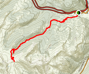 Searle Pass Trail Map