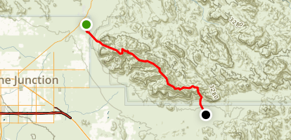 Superstition Ridgeline Trail Map