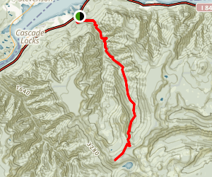 Herman Creek Trail (CLOSED) Map