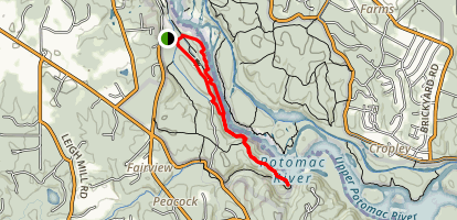 River and Matildaville Trail Map