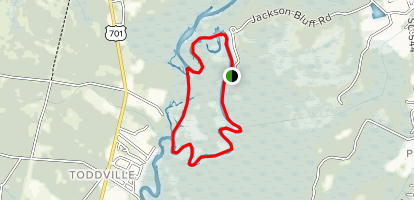 Waccamaw Island Canoe Loop Map