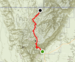 The Tejas Trail Map