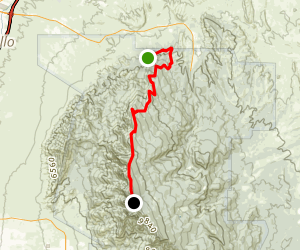 North Crest Trail  Map