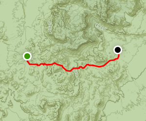 Dodson Trail Map