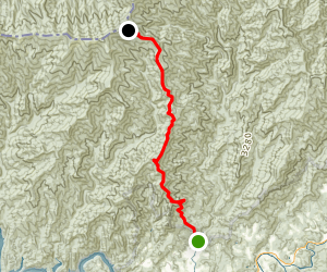 Noland Divide Trail Map