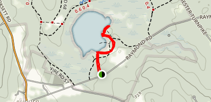 Little Massebesic Lake Map