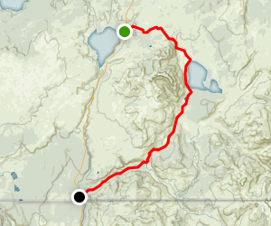 Heart Lake and the Snake River Trails Map