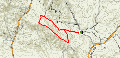 Black Hills Trail to Valley View Trail Loop Map
