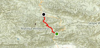 Ortega Trail Map