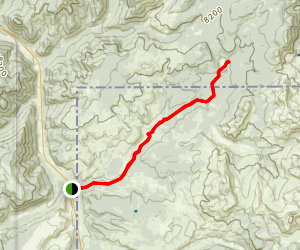 Fawn Pass to Fan Creek Trail Map