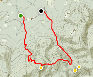 Mount Galehead and Mount Garfield Trail Map
