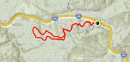 Fourth of July Summit Loop Map