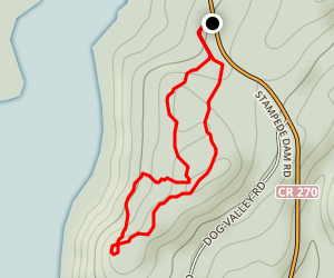 Stampede - Eagles Loop Trail Map