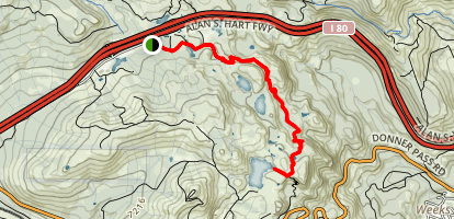Angela Lake Hike Map