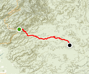 Arizona Trail: Bellota Map