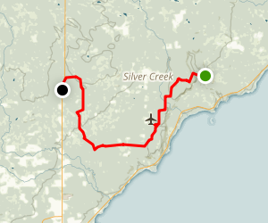 Superior Hiking Trail: Crow Creek Map