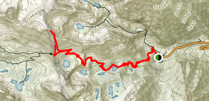 Mount Gould Trail Map