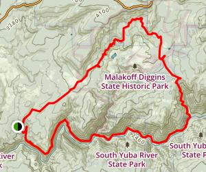 South Yuba Trail Map