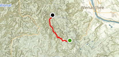 Devils Gulch Trail Map